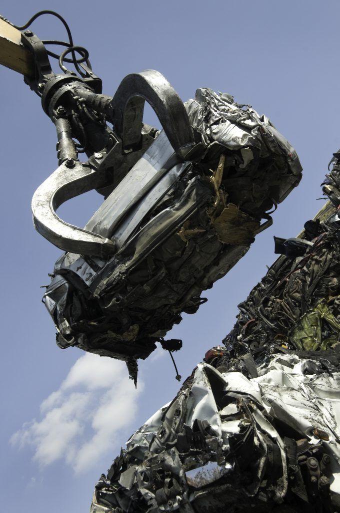 Професионално рециклиране на коли